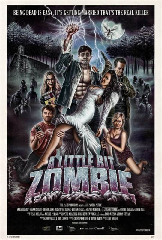 A Little Bit Zombie Large Poster