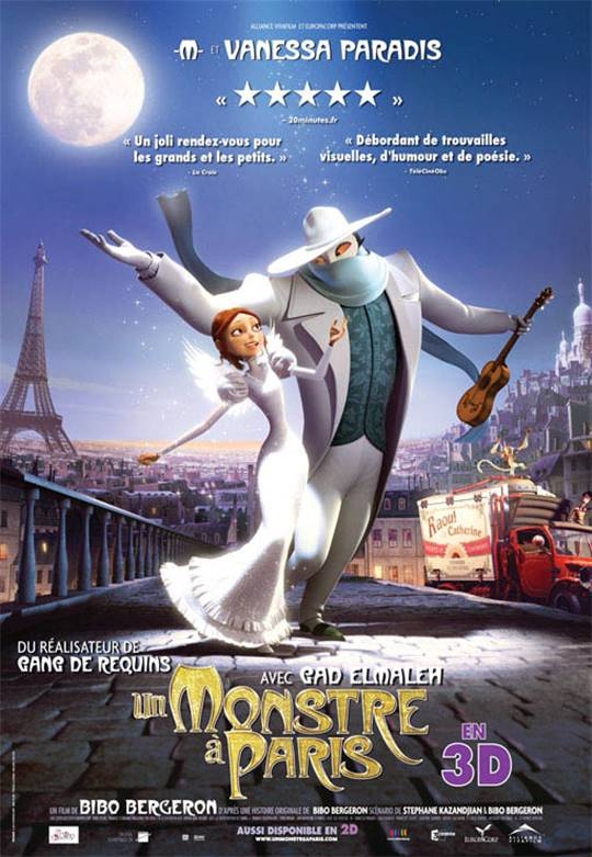 A Monster in Paris Large Poster