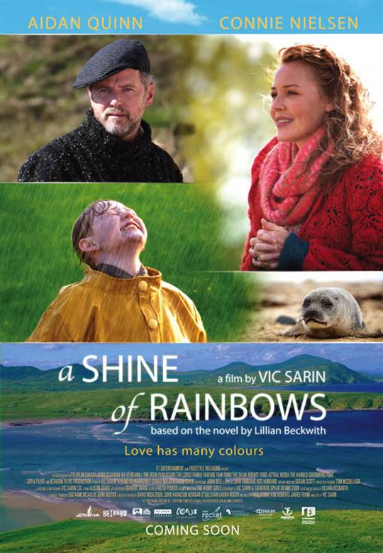 A Shine of Rainbows Large Poster