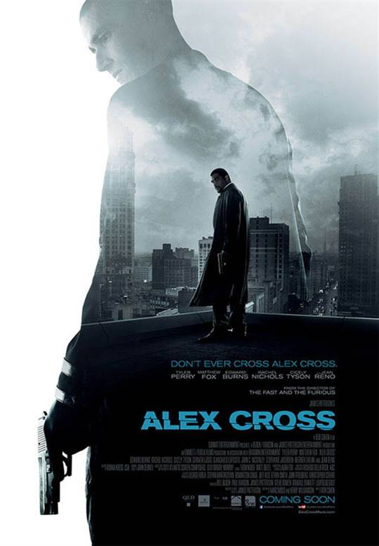 Alex Cross Large Poster