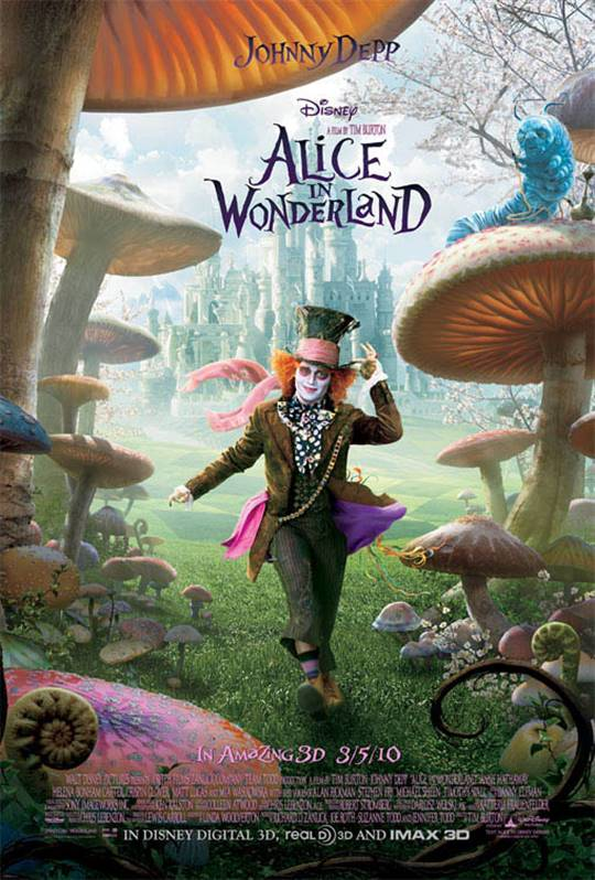 Alice in Wonderland Large Poster
