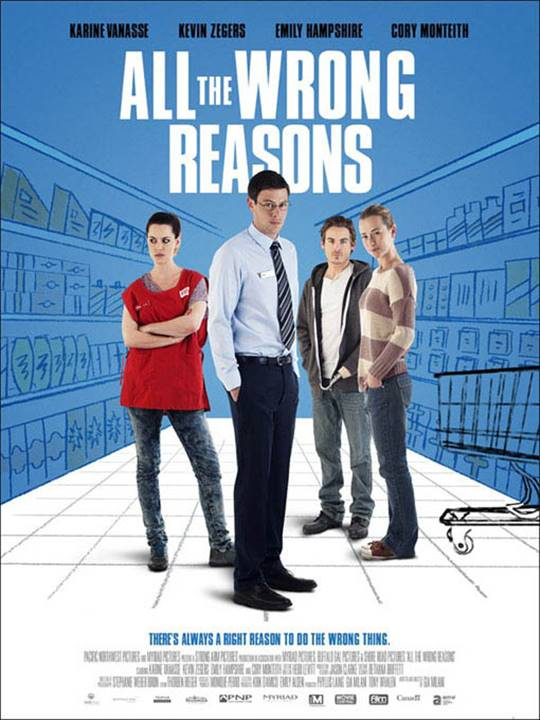 All the Wrong Reasons Large Poster