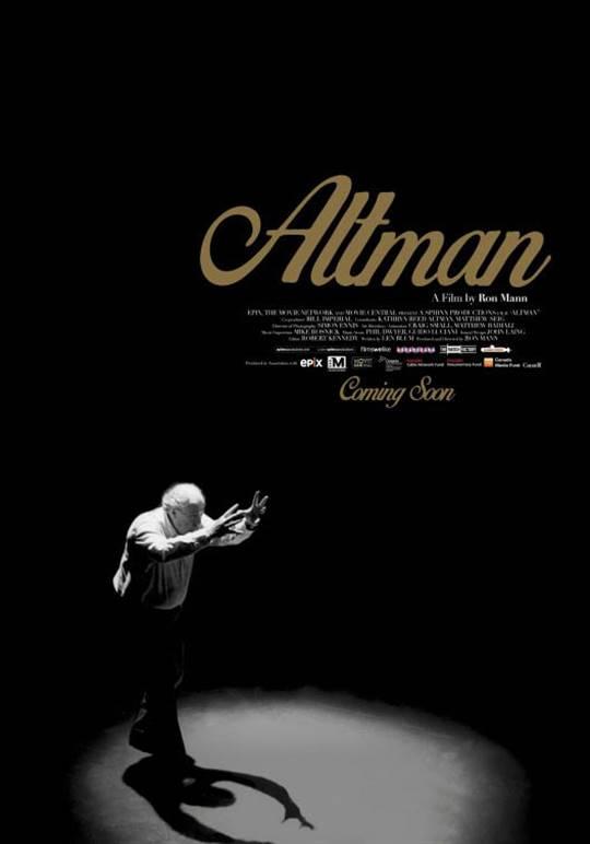 Altman Large Poster