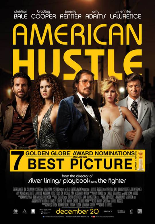 American Hustle Large Poster