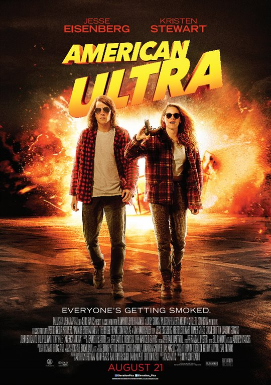 American Ultra Large Poster