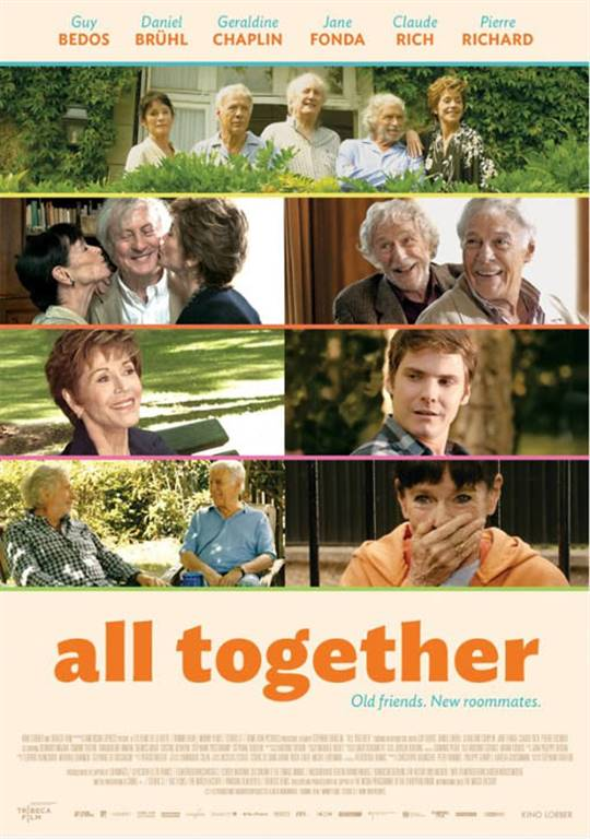 And If We All Lived Together? Large Poster