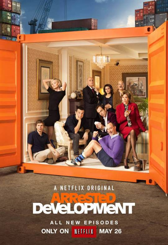 Arrested Development: The Complete Fourth Season Large Poster