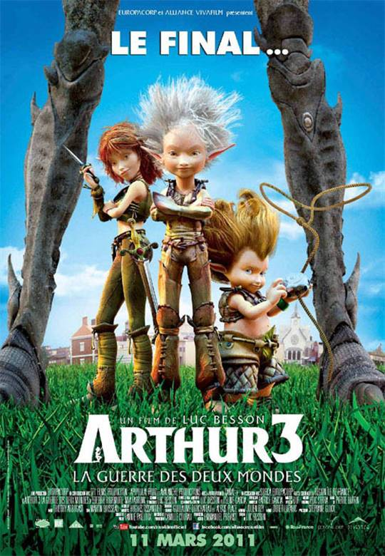 Arthur 3: The War of the Two Worlds Large Poster