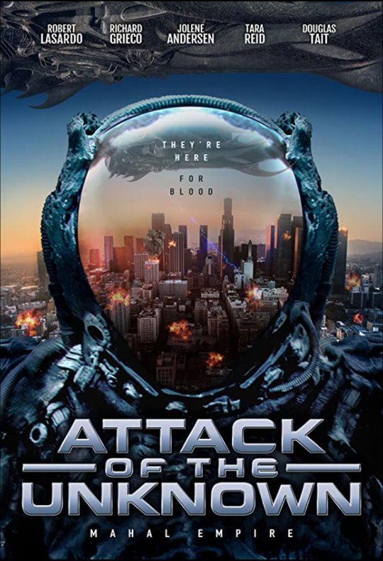 Attack of the Unknown Large Poster