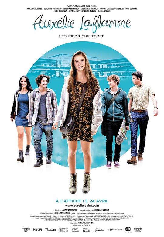 Aurélie Laflamme - Les pieds sur terre Large Poster