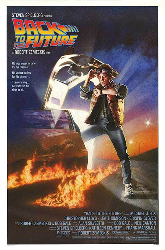 Back to the Future Large Poster