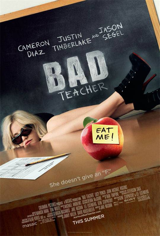 Bad Teacher Large Poster
