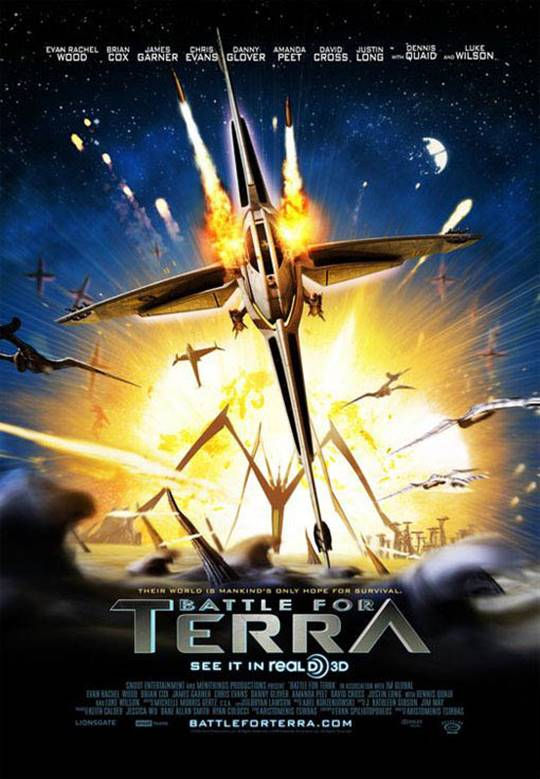 Battle for Terra Large Poster