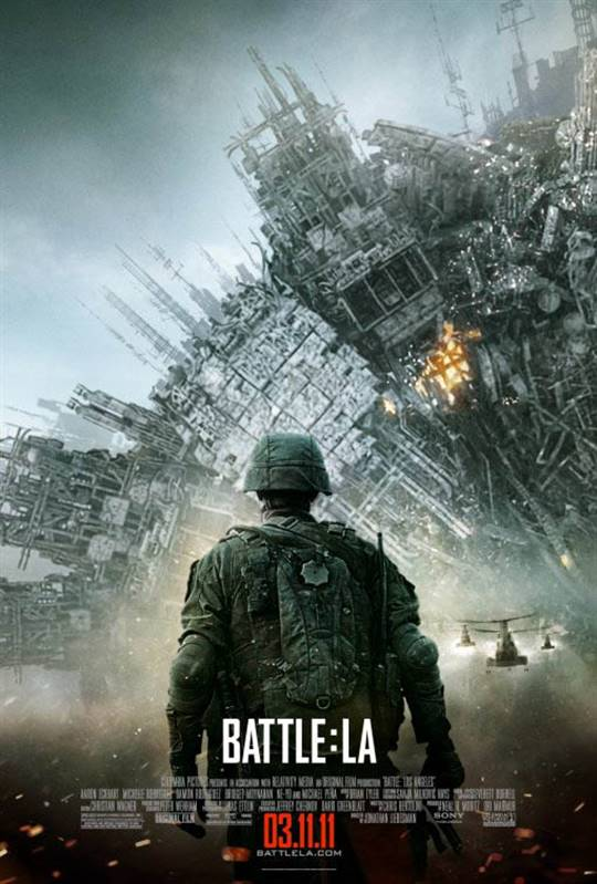 Battle: Los Angeles Large Poster