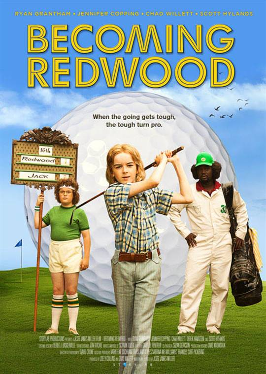 Becoming Redwood Large Poster