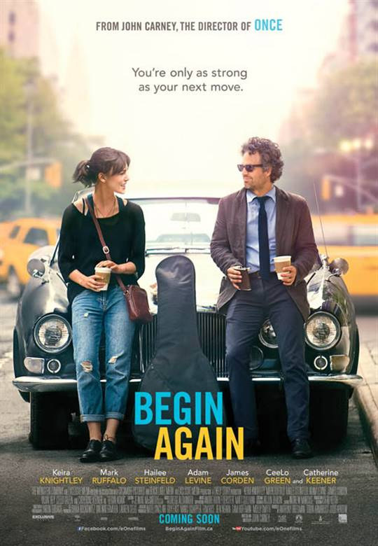 Begin Again Large Poster