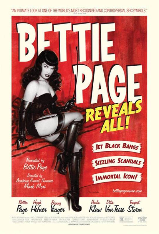 Bettie Page Reveals All! Large Poster