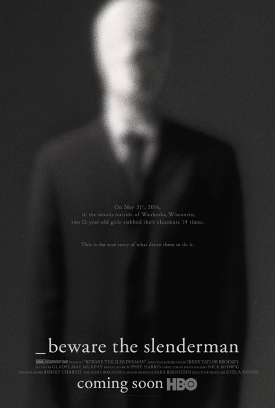 Beware the Slenderman (HBO) Large Poster