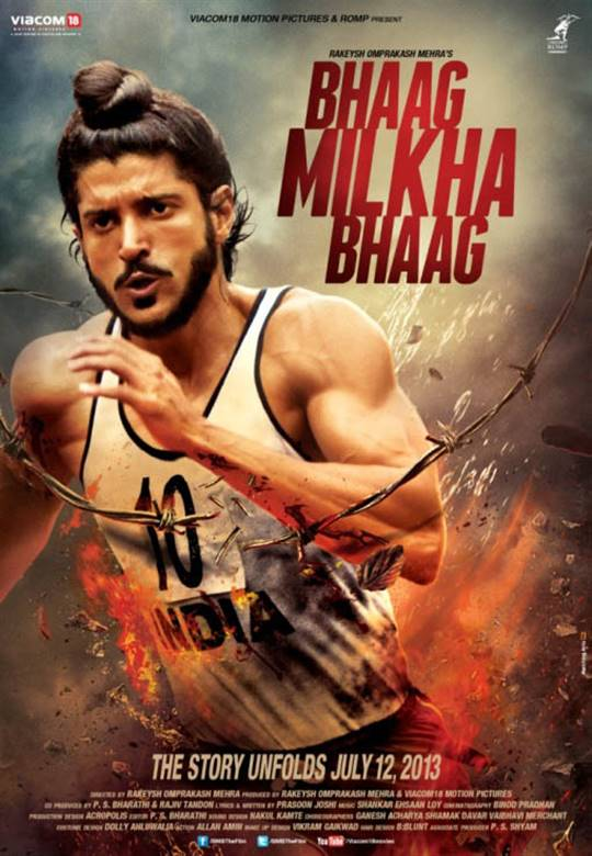 Bhaag Milkha Bhaag Large Poster