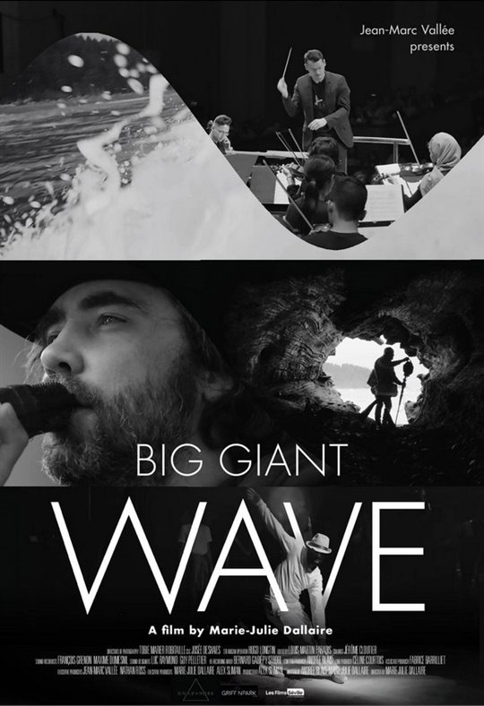 Big Giant Wave Large Poster
