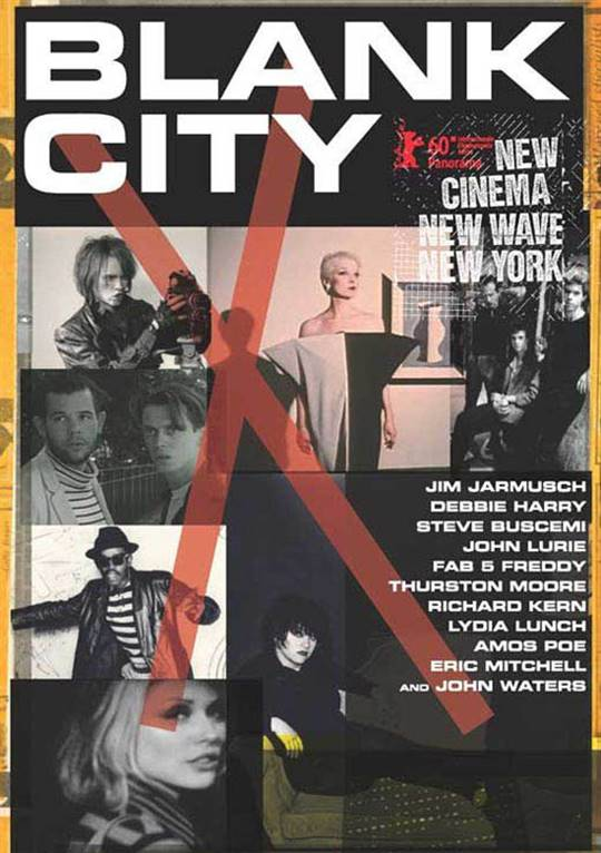Blank City Large Poster
