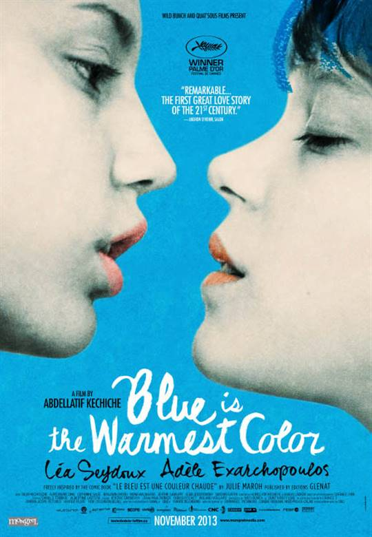 Blue is the Warmest Color Large Poster