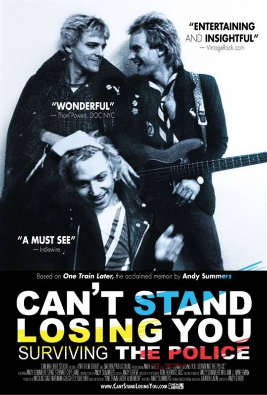 Can't Stand Losing You: Surviving the Police Large Poster