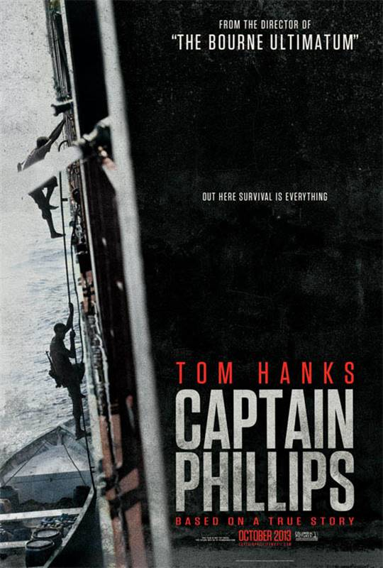 Captain Phillips Large Poster