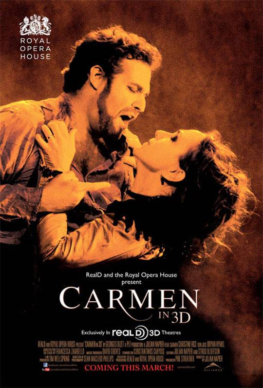 Carmen in 3D Large Poster