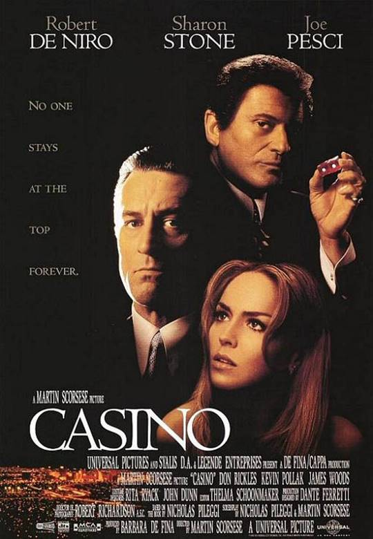 Casino Large Poster