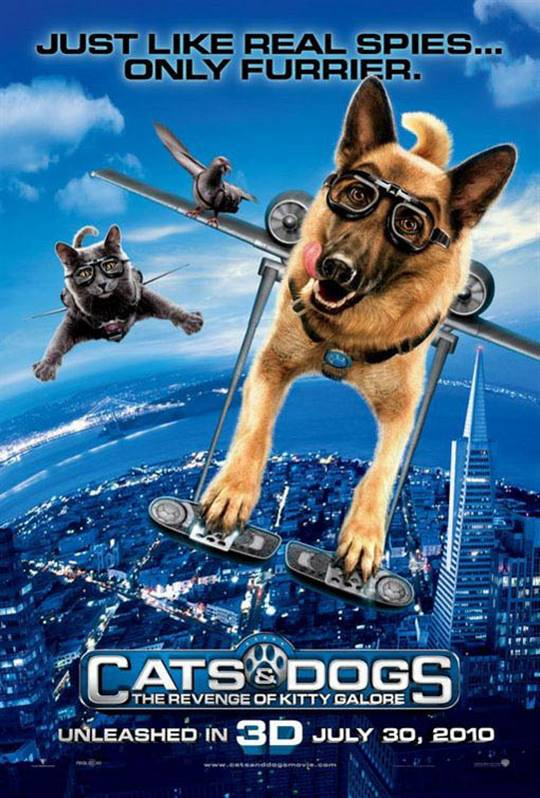 Cats & Dogs: The Revenge of Kitty Galore Large Poster