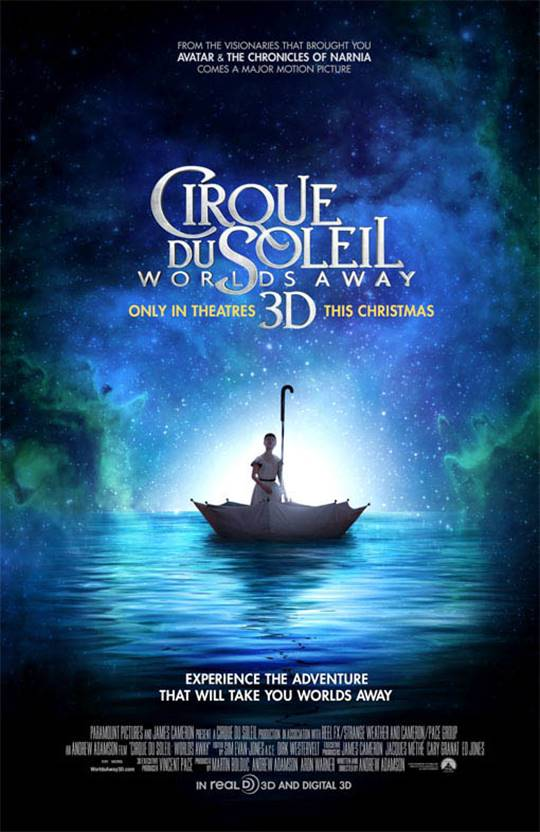 Cirque du Soleil: Worlds Away  Large Poster