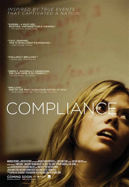 Compliance New York Premiere: Movie Synopsis And Info