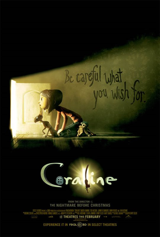 Coraline Large Poster