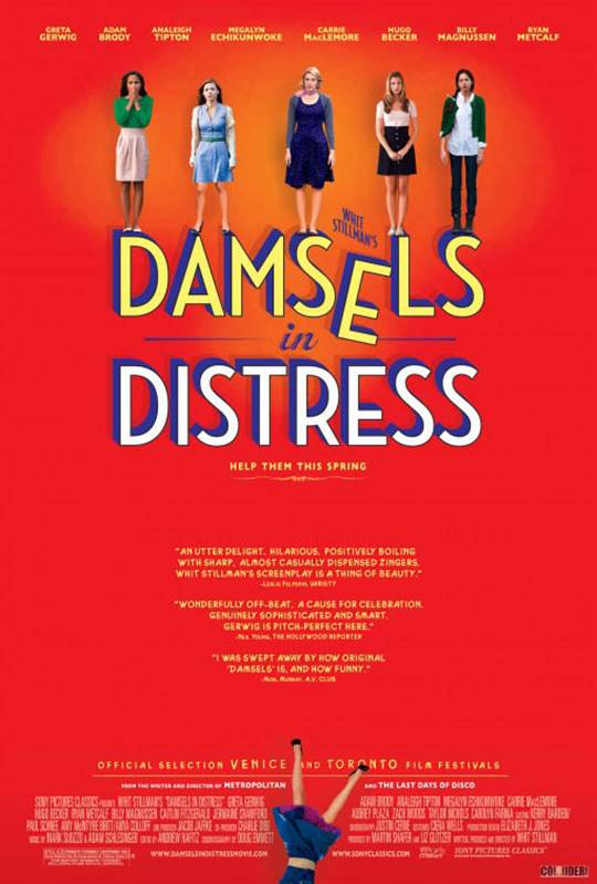 Damsels in Distress Large Poster