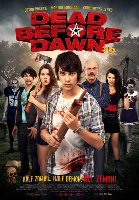 Dead Before Dawn 3D Large Poster
