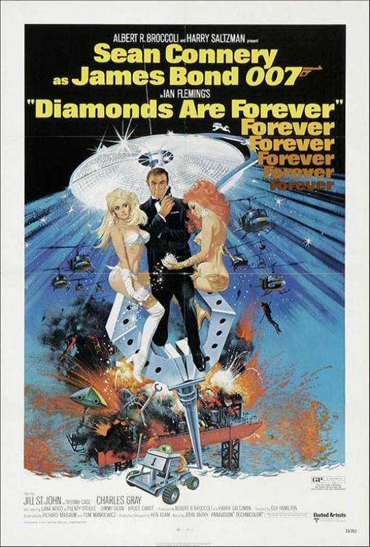 Diamonds Are Forever Large Poster