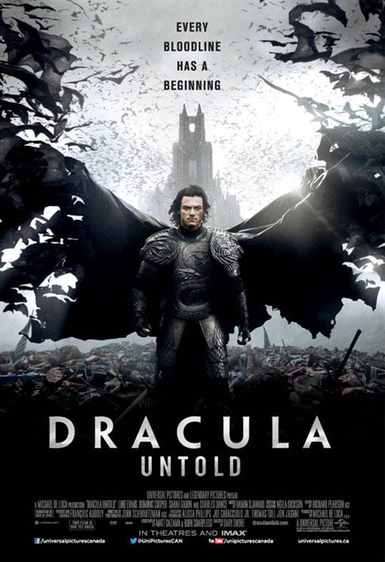 Dracula Untold Large Poster