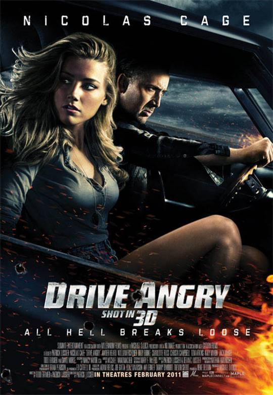 Drive Angry Large Poster