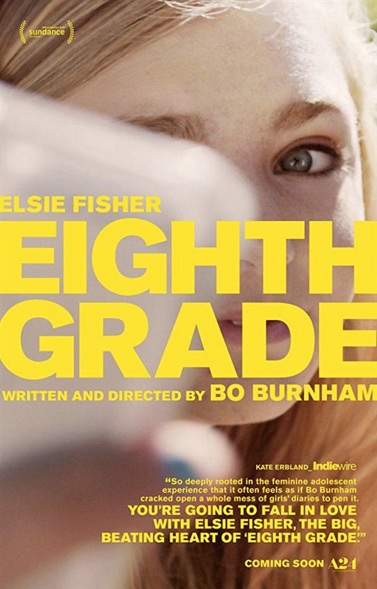 Eighth Grade (v.o.a.) Large Poster