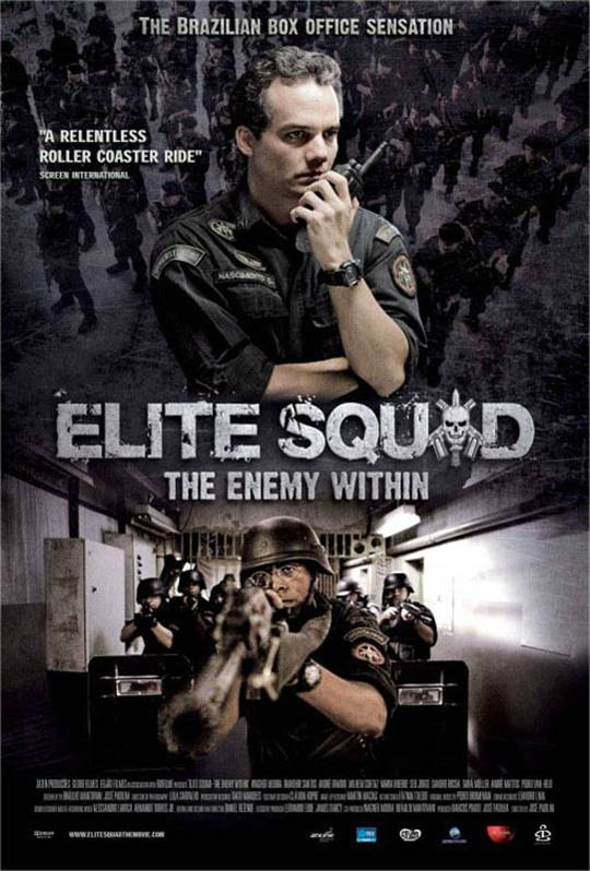 Elite Squad: The Enemy Within Large Poster
