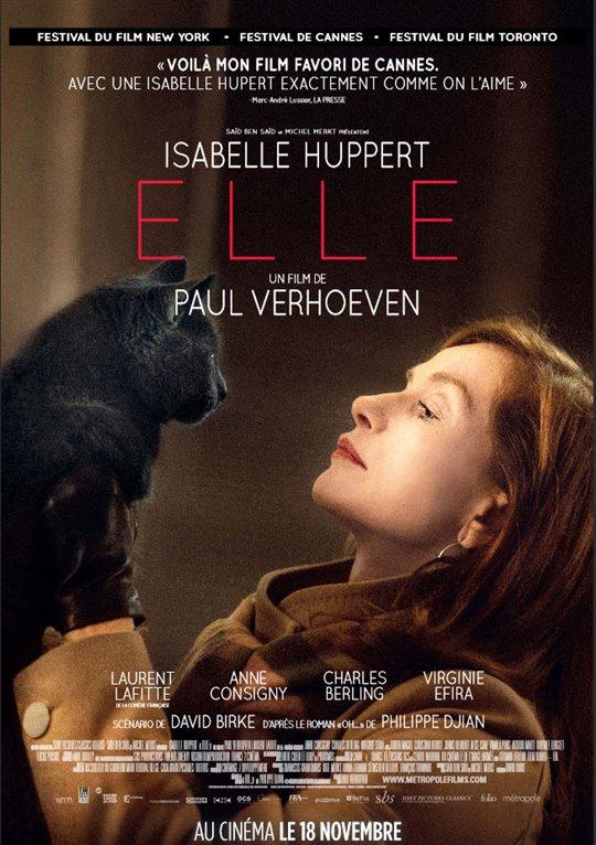 Elle (v.o.f.) Large Poster