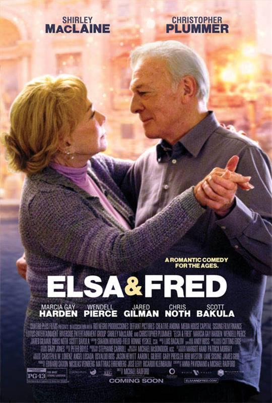 Elsa & Fred Large Poster