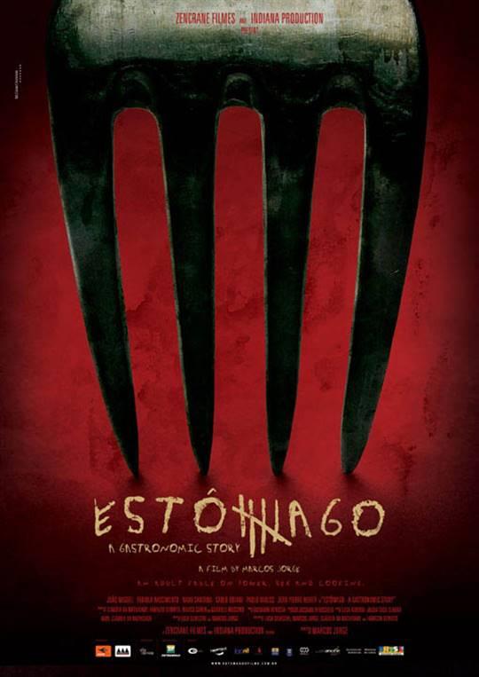 Estômago: A Gastronomic Story Large Poster