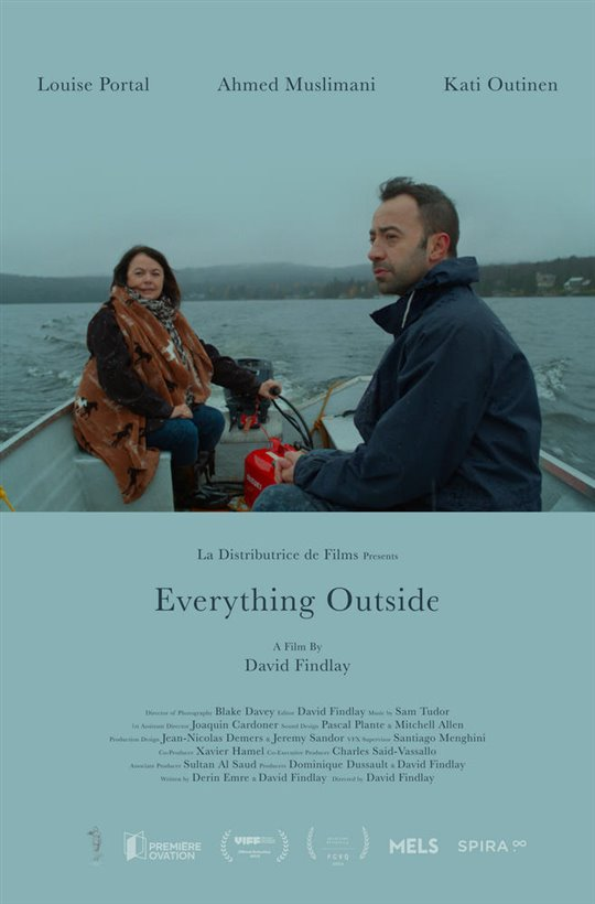 Everything Outside Large Poster