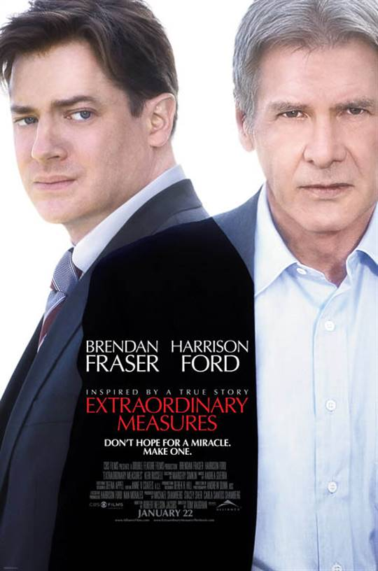 Extraordinary Measures Large Poster
