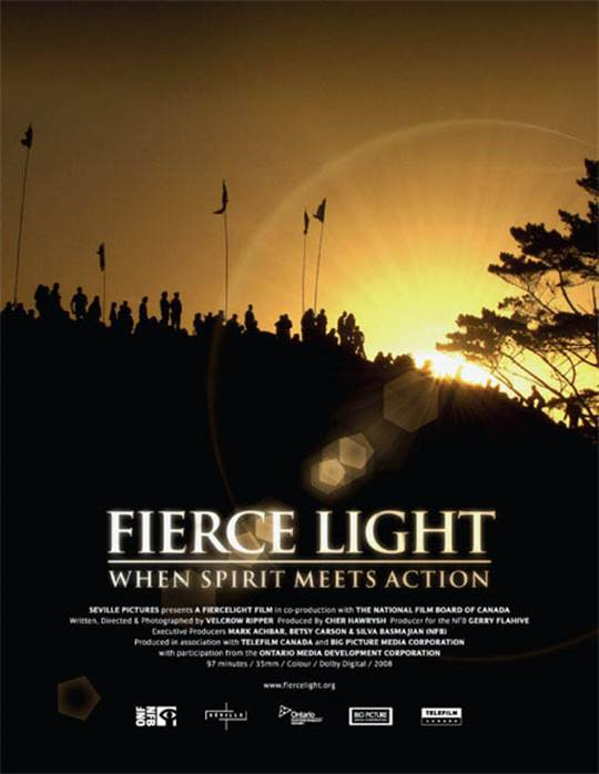Fierce Light: When Spirit Meets Action Large Poster