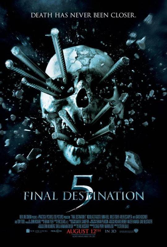 Final Destination 5 Large Poster