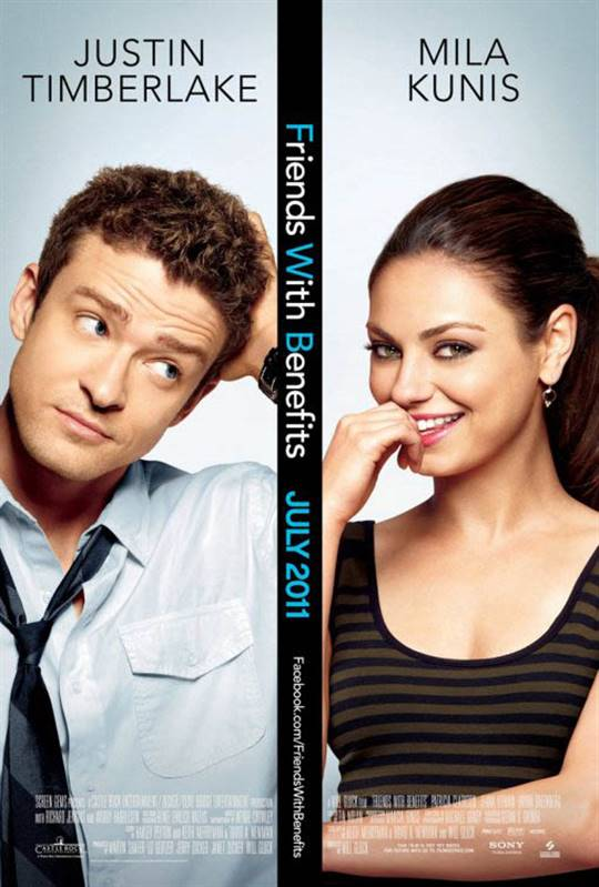 Friends with Benefits Large Poster
