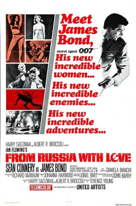 From Russia With Love Large Poster
